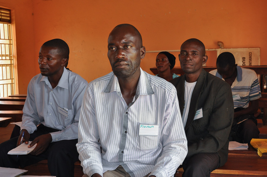 Photo of Paul Mulawa seated in a classroom