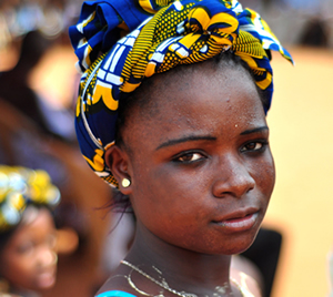 International Women's Day 2015. Photo of a young woman.