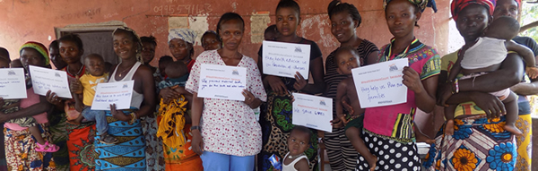 Health Workers Count: Nurse Adma Kanu and Lactating Mothers at Mambaba, Sierra Leone