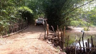 Bridge built by the community for access between Rofoindu MCHP and the city.