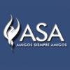 Amigos Siempre Amigos (ASA) logo