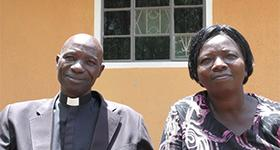 Photo of Reverend Charles Irongo and his wife, Mrs. Edith Irongo
