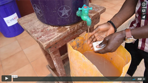 Screenshot from Strengthening WASH and IPC Services in Post-Ebola Sierra Leone (click to view)